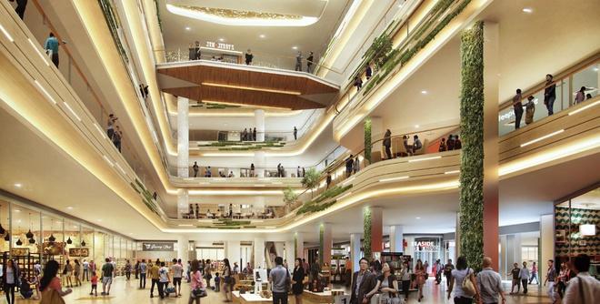 Estella Place là một trong những trung tâm thương mại lớn nhất Sài Gòn và cũng là địa chỉ mua sắm, giải trí quen thuộc của người dân quận 2