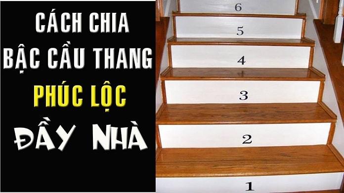 Cầu thang bao nhiêu bậc là tốt? Cách chia bậc cầu thang theo phong thủy