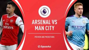 Nhận định bóng đá trận đấu giữa Arsenal vs Manchester City FA Cup 1h45 19/07/2020