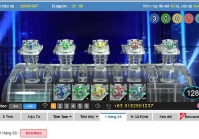 Chơi xổ số online tại Kubet