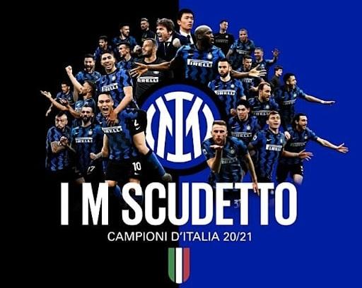 Inter Milan lên ngôi vô địch Serie A 2021