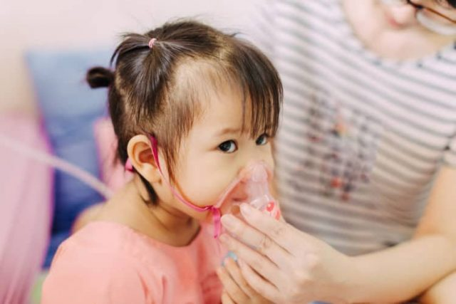 Trẻ em rất dễ bị mắc các căn bệnh viêm nhiễm về đường hô hấp
