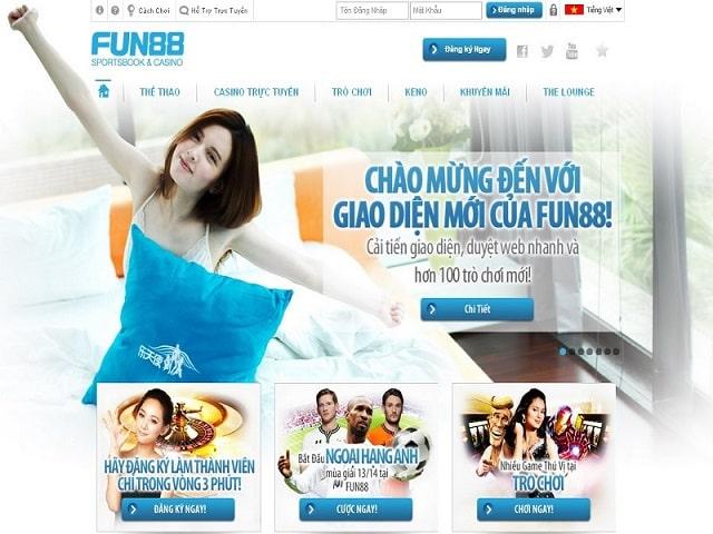Nhà cái Fun88 logo là điểm đến giải trí của nhiều anh em